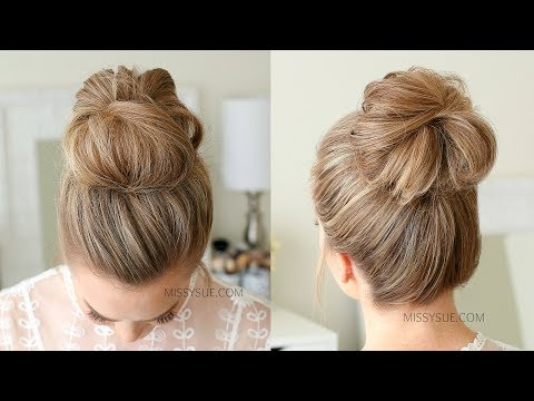 2 Easy Messy Buns | Missy Sue