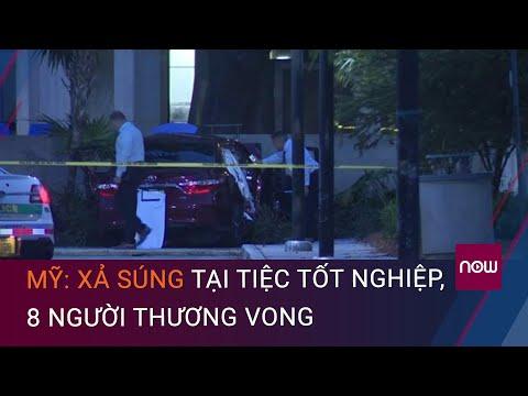 Mỹ: Xả súng tại tiệc tốt nghiệp, 8 người thương vong | VTC Now