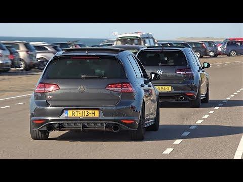 Modified Cars Leaving Car Meet – Golf GTI, 370Z, RS6, Supra, R34 Skyline, Impreza WRX STI