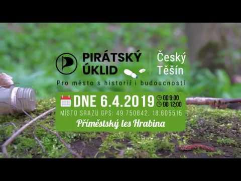 Přidej se k pirátskému úklidu příměstského lesu Hrabina v Českém Těšíně