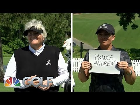 Laura Davies and caddie Tanya Paterson play Caddie Knows Best | Golf Channel