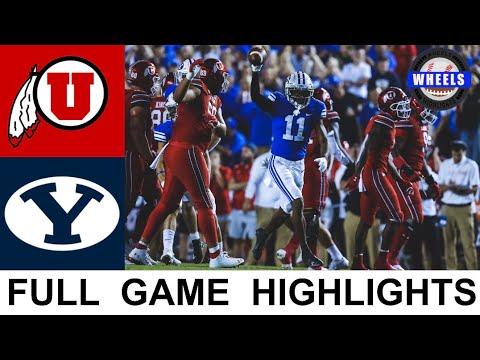 #21 Utah vs BYU Highlights   College Football Week 2   2021 College Football Highlights