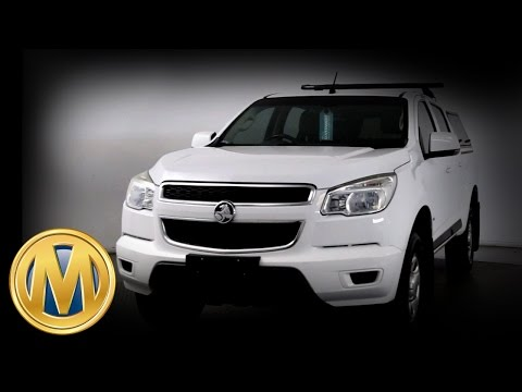 Tradie Day Auction - 2012 Holden Colorado