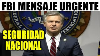 Ultima hora EEUU, FBI ADVERTENCIA URGENTE ¡SEGURIDAD NACIONAL! 21/10/202