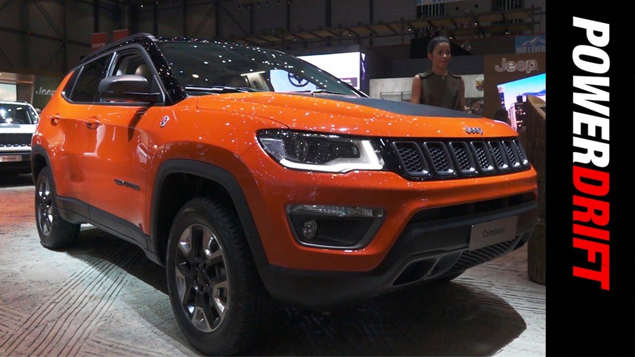Jeep Compass : Geneva Motor Show : PowerDrift