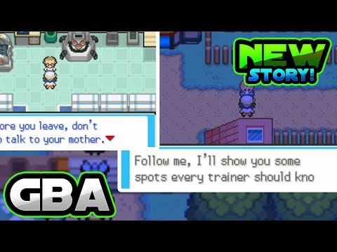 AMAZING POKÉMON GBA ROM HACK WITH NEW STORY!!? (Gameplay & Download) 2018!