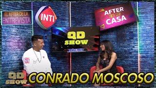 Conrrado Moscoso en el After de la Entrevista
