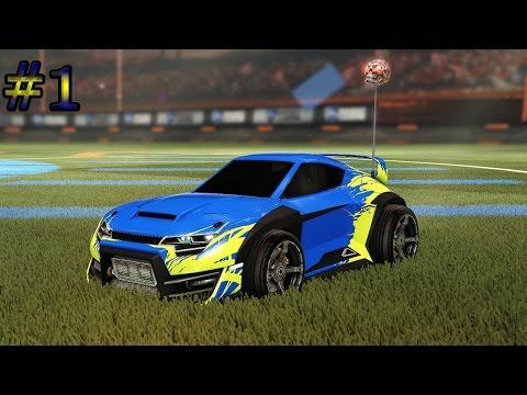 En opeens maak ik goals!!! Rocket League #1