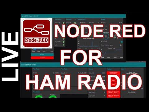Into to Node Red for Ham Radio - Build a Ham Radio Dashboard