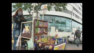 Vendedores informales esperan pronta autorización para salir a conseguir su sustento diario