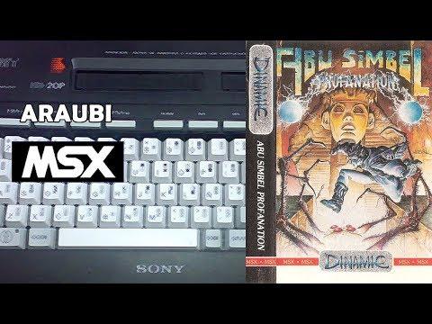 Abu Simbel Profanation (Dinamic, 1986) MSX [017] El Kiosko