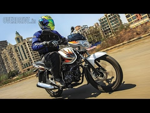 2014 Bajaj Discover 125M India road test