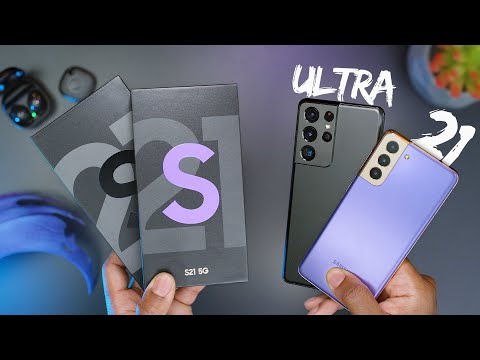 Samsung Galaxy S21 & S21 Ultra Unboxing!
