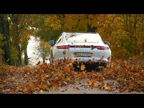 The new Panamera in Warsaw and Masuria, Poland