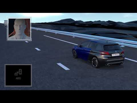 NY PEUGEOT 308 -  funktioner - active blindspot detection