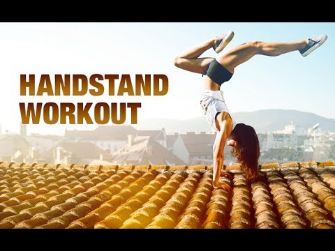 Handstand Workout Routine (FUN UPPER BODY CHALLENGE!!)
