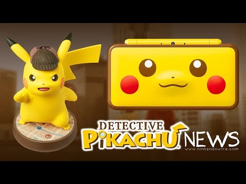 connectYoutube - HUGE Detective Pikachu amiibo Announced | Nintendo Wiretap | January 12th, 2018