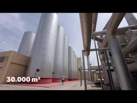 Vídeo sobre a fábrica da Arla Foods Ingredients em Porteña