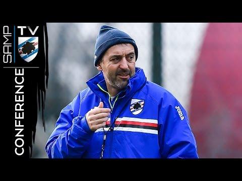 Atalanta-Sampdoria: la conferenza di Giampaolo