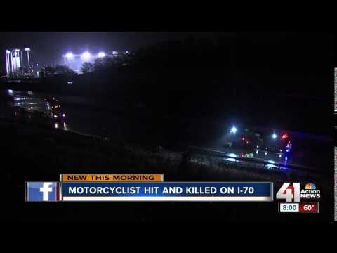 Motorcyclist killed in I-70 crash