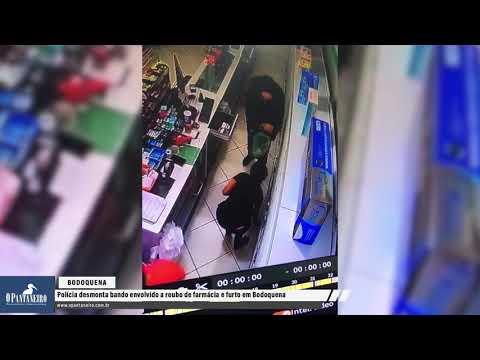 Polícia desmonta bando envolvido a roubo de farmácia e furto em Bodoquena
