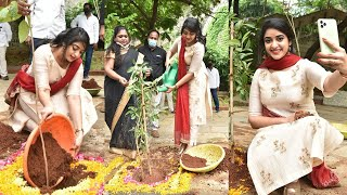 Actress Nakshatra Participates In Green India Challenge - Telugu Film News | Latest Tollywood News - TFPC