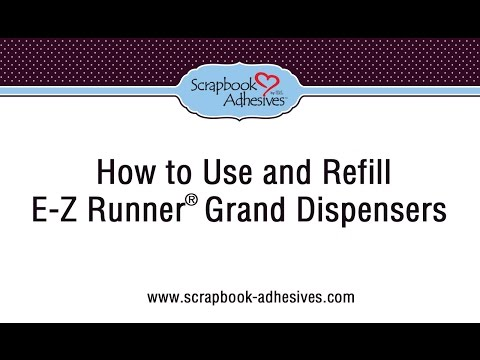 How to Use and Refill the E-Z Runner Grand Dispenser