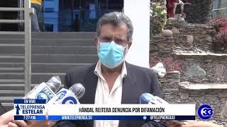 #Teleprensa33 | Hándal reitera denuncia por difamación