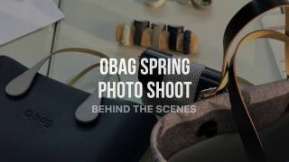 O bag Spring Collection Photoshoot - Behind The Scenes