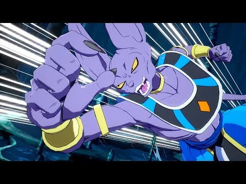 HAKAI! God of Destruction Beerus OFFICIAL Gameplay Trailer | Dragon Ball FighterZ
