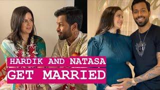 Hardik Pandya and Natasha Savroski get married   Couple announce their pregnancy   TellyChakkar - TELLYCHAKKAR