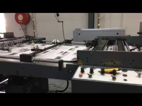 Mini 105 in production at 120m/min