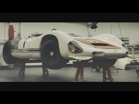 Porsche 910/8 Bergspyder ? Restoration of a rare exhibit