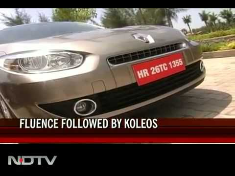 Renault re-enters India with Renault Fluence- NDTV report