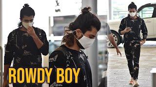 Vijay Devarakonda Spotted At Airport Today | Celebrities Airport Videos | TFPC - TFPC