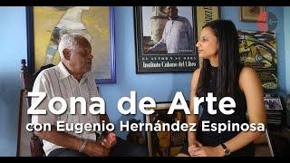 Zona de Arte: Eugenio Hernández Espinosa, libros sobre las tablas