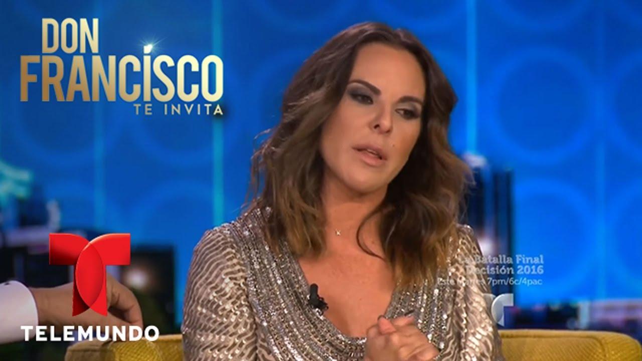 Don Francisco Te Invita | Kate del Castillo habla sobre el El Chapo Guzmán | Entretenimiento