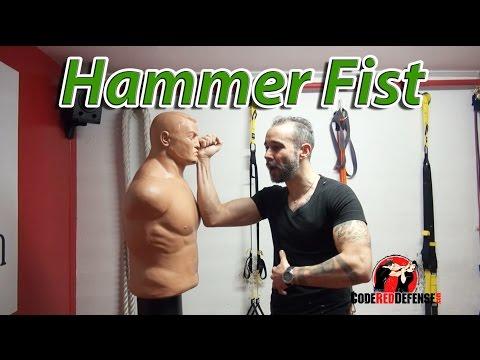 Krav Maga DFW Self Defense hammerfist downward - YouTube