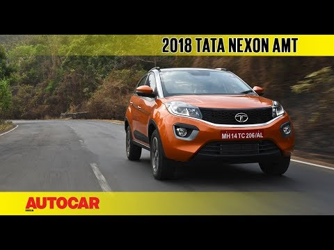 Tata Nexon AMT automatic | First Drive Review | Autocar India