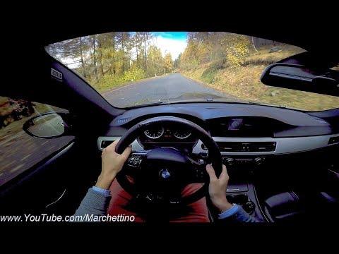 Insane Sounding BMW M3 E92 - POV Test Drive & Powersliding!