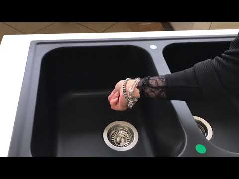 How to clean composite granite sinks