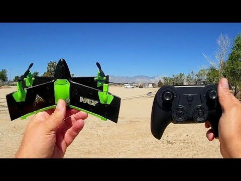 X99A X-Wing Drone Flight Test Review