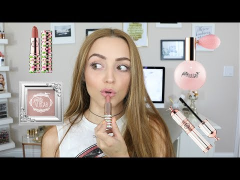 PRETTY VULGAR Makeup | Wear Test & First Impressions