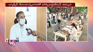 Medicover Groups CMO Rakesh F2F Over Research On Efficiency Of Covid Vaccination | V6 News - V6NEWSTELUGU