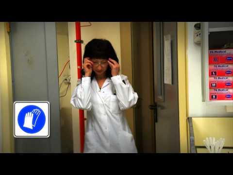 דגשים בעבודה בטוחה בעת שפך חומרים אורגניים מסוכנים במעבדה כימית