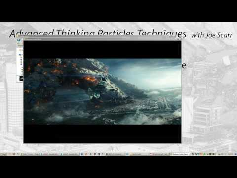Part 3: Joe Scarr Advanced thinkingParticles Techniques - Independence Day Resurgence - closeup