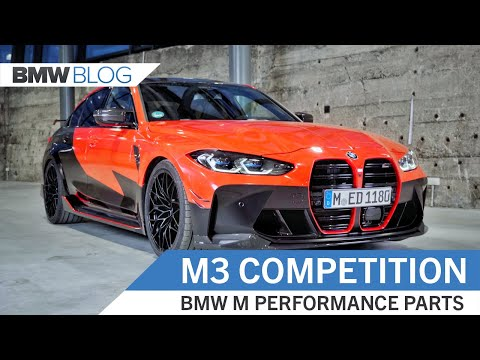 EXCLUSIVE: NEW BMW M3 Competition with M Performance Parts