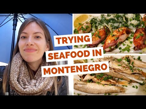 Montenegrin Food Review – Eating local seafood dishes in Kotor, Montenegro