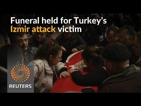 Final farewell for Turkey's Izmir bomb attack victim
