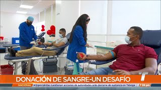 Donación de sangre en Panamá es un desafío, cirugías reprogramadas están en la mira